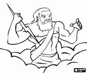 imagenes de dios zeus para dibujar juegos de antigua grecia para colorear imprimir y pintar 2