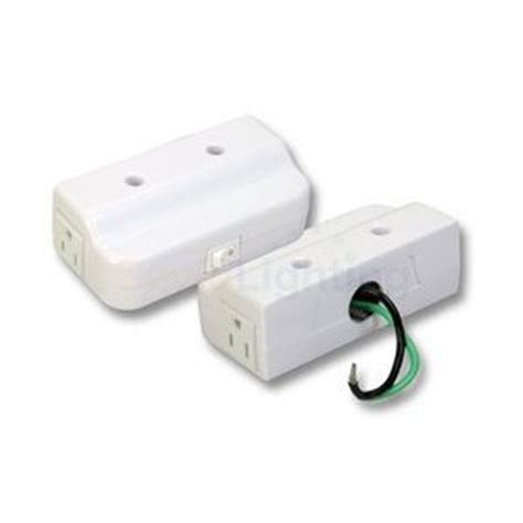 under cabinet outlet box convenience box convert romex or flourescent wiring into