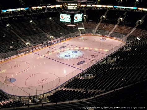 acc section 306 air canada centre section 312 toronto maple leafs