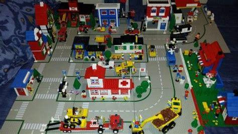 legoland layout my classic legoland town layout lego pinterest