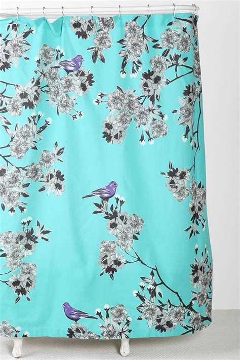 Curtains Birds Theme Plum Bow Bird Blossom Shower Curtain Luvin Outfitters Pinterest Blossoms Birds And Ps