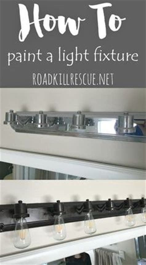 painting bathroom fixtures 1000 ideas about painting light fixtures on
