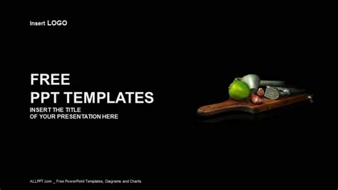 free powerpoint templates food squeezers food ppt templates