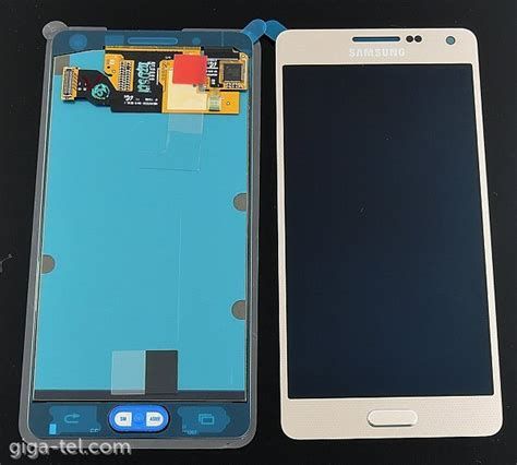 Lcd A5 samsung a500f lcd touch gold gh97 16679f