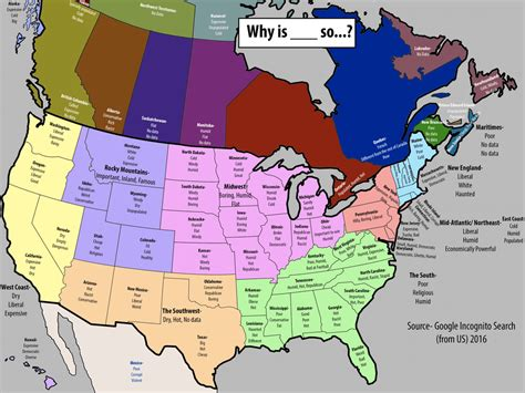 provincial maps of canada reddit user reveals most googled questions about canadian