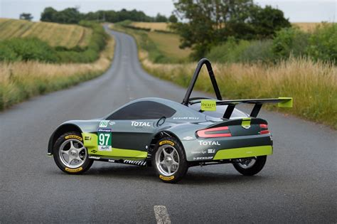 Build A Aston Martin by Not A V12 This Aston Martin Is Powered By Gravity