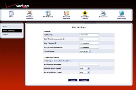 reset my verizon fios password how to change verizon fios router admin password default