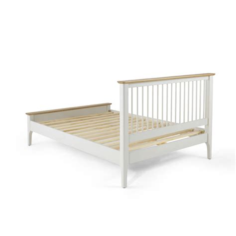 cotswold oak 5ft curved bed buy online at qd stores hebden painted oak 5ft king size bed frame