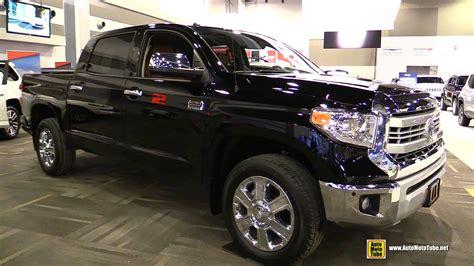 nissan tundra interior 2015 toyota tundra crewmax platinum 5 7l exterior and
