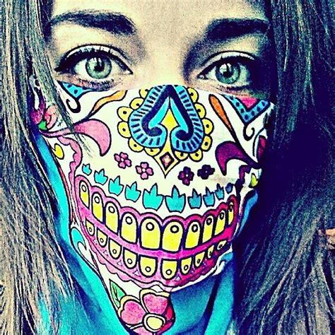 Masker Bandana skull bandanas skull masks skull tubular neck