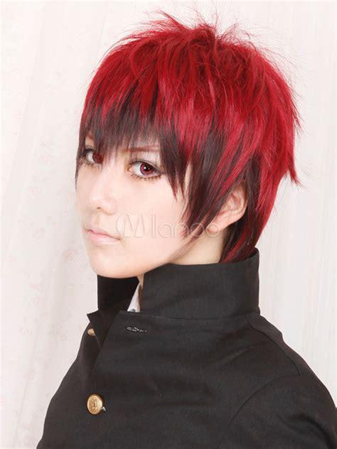 Ed Dress Kagami kuroko no basketball kagami taiga faux wig