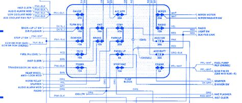 gmc sierra  fuse box diagram wiring diagram schema