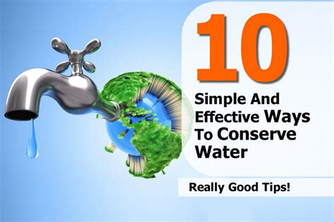 7 Ways To Conserve Water by Ways To Conserve Water Pictures To Pin On