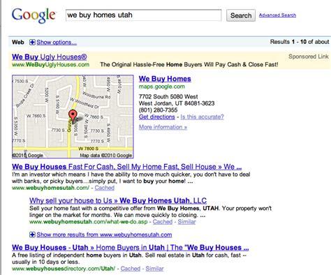 we buy houses utah google local business for real estate