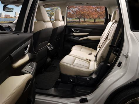 subaru suv interior new 2019 ascent is subaru s largest suv yet goes after