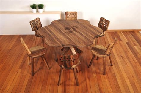 Wooden Dining Room Table Movel De Madeira Archives Artezanal
