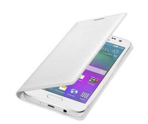Samsung Galaxy A3 Flip Cover samsung galaxy a3 2015 flip cover white buy in