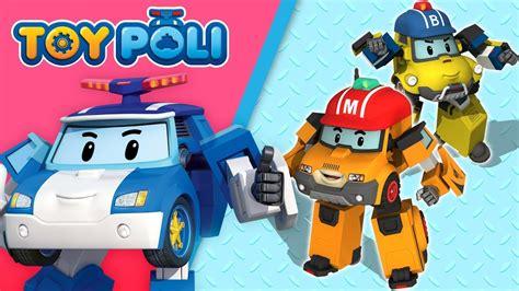 New 2pc Robocar Poli new friends of robocar poli season4 poli special