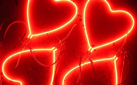 best wallpapers love heart neon wallpaper 1280x800 resolution wallpaper download best wallpaper net