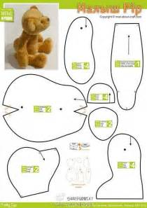 Teddy bear patterns on pinterest bear patterns teddy bears and free