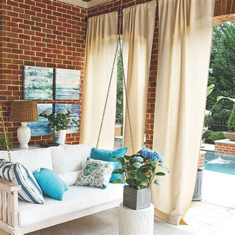 outdoor fabric curtains outdoor drapery for your home custom creations interiors