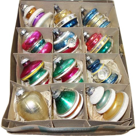 box 12 large american made fancy molded shapes christmas