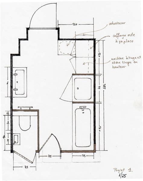 plan salle de bain 5m2 4438 plan salle de bains id 233 es d 233 co salle de bain