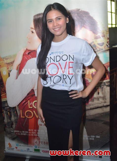 launching film london love story foto yunita siregar hadiri konferensi pers london love