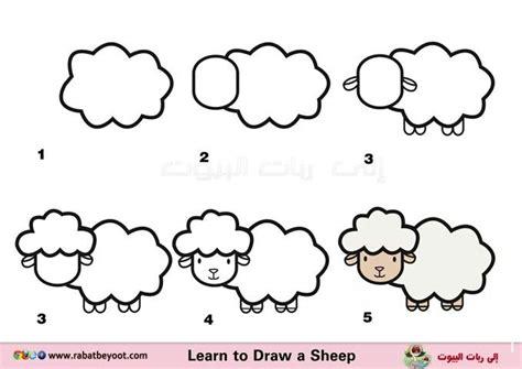 imagenes de ovejas faciles para dibujar pin de lorena munoz en ovejas para cristi pinterest