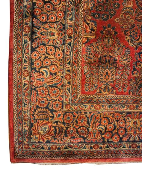 chicago rug dealer early 20th century sarouk rug for sale at 1stdibs