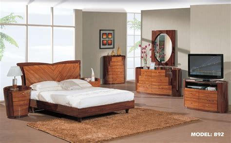 modern wood bedroom furniture decorate my house