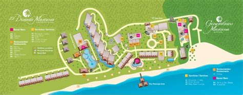 dorado resort map want a resort map for el dorado maroma sunset travel inc