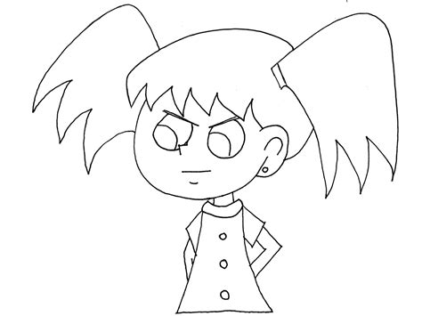 colorea tus dibujos dibujos de caricaturas colorea tus dibujos ni 241 a enojada para colorear ni 241 a