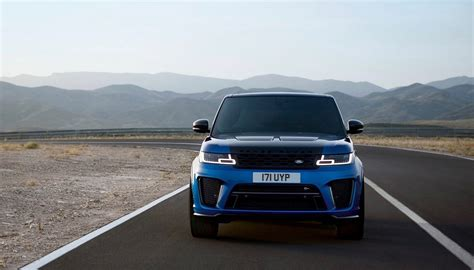 land rover sport 2018 2018 range rover sport svr gets an early reveal the
