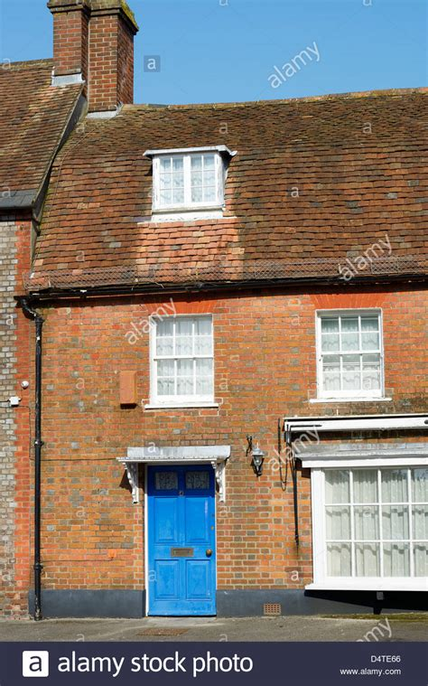 home design forum uk georgian house with bay window and dormer the plocks blandford stock photo royalty free image
