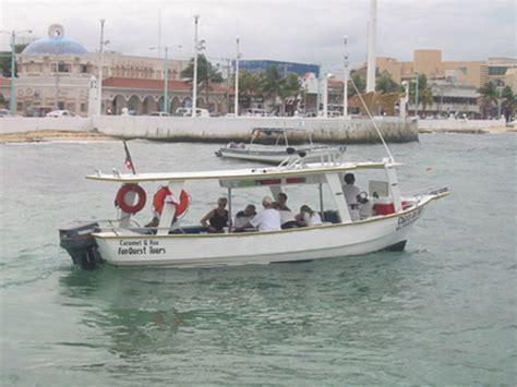 glass bottom boat cancun barco fondo cristal excursiones cozumel