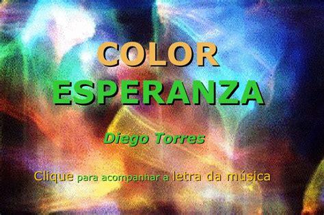 color esperanza color esperanza