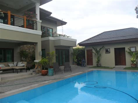 house with pool for sale brand new mansion with swimming pool angeles city timog angeles real estate