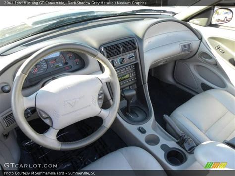 2004 mustang interior medium graphite interior 2004 mustang gt convertible