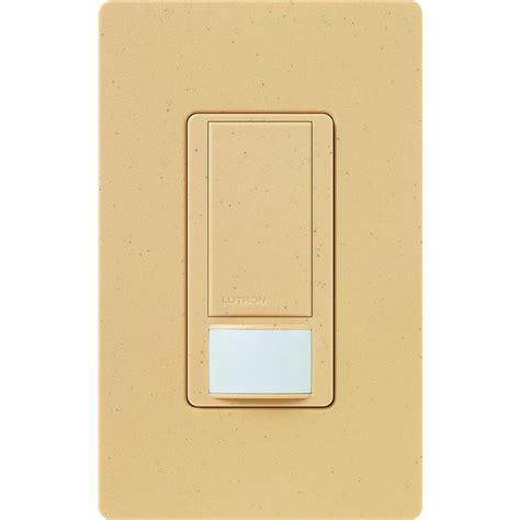 lutron automatic light switch lutron maestro dual voltage vacancy sensor switch 6 amp