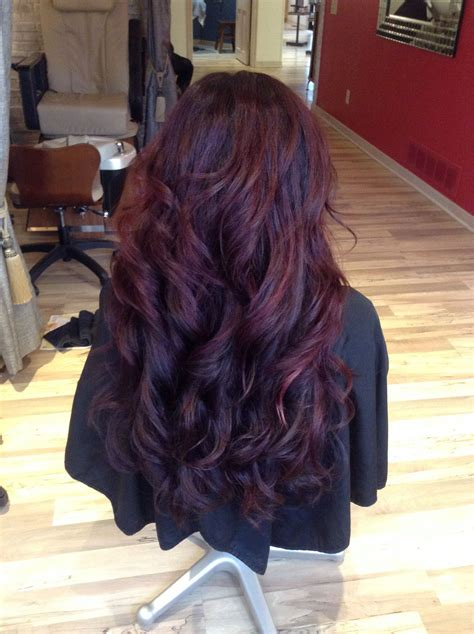 mulberry hair color beautiful mulberry merlot haircolor reds longhair