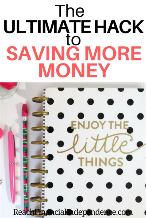 the ultimate hack to saving more money reach financial