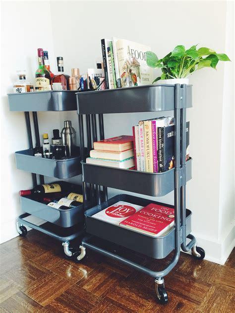 ikea raskog rolling cart smart ways to use ikea raskog cart for home storage raskog