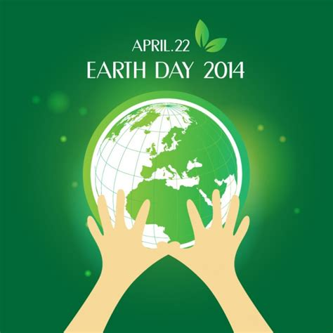 day design earth day design vector free