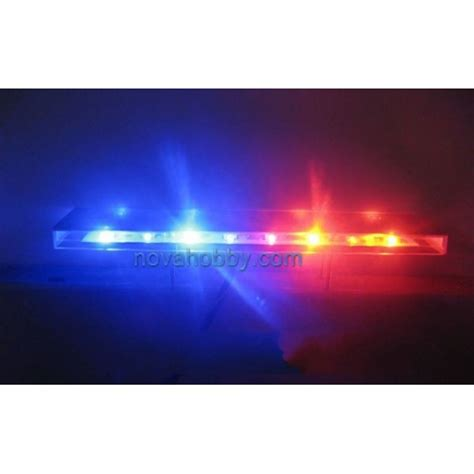 police car flashing lights rc roof police flashing light bar set 16 leds for 1 10 car