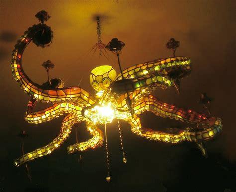 octopus light fixture octopus chandelier rocks your world gadgetify