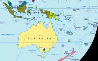 Australia Map Of The World by Australia Map World