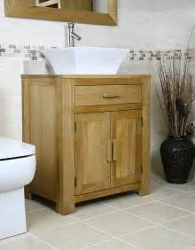 bathroom vanity units made of solid oak wood useful