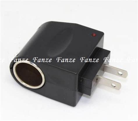 Promo Adaptor Ac To Dc 12v Car Cigarette Lighter Mobil Socket Power free shipping 110v ac to 12v dc car cigarette lighter socket charger outlet adapter home use us