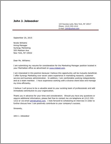 job application cover letter format best 25 resume examples ideas